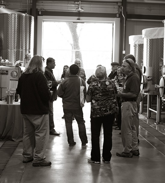Lasseter Family Winery Unveiling