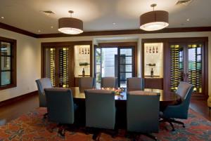 Lasseter Family Winery Wine Room