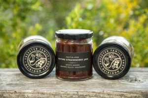 Lasseter Family Winery Heirloom Farms Alpine Strawberry Jam